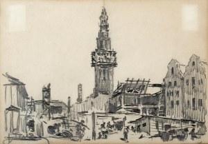Antoni Suchanek (1901 Rzeszów - 1982 Gdynia), Widok Gdańska
