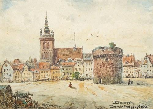 Moritz Wimmer (XIX/XX w.), Gdańsk, Plac Domnikański