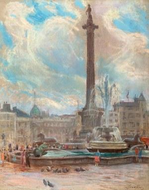 Władysław Serafin (1905 Kraków – 1988 tamże), Kolumna Nelsona przy Trafalgar Square w Londynie, ok. 1965