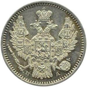 Rosja, Mikołaj I, 5 kopiejek 1849 PA, Petersburg