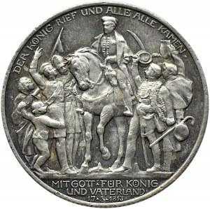 Niemcy, Prusy, Bitwa pod Lipskiem, 2 marki 1913 A, Berlin