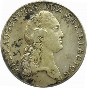 Niemcy, Saksonia, Fryderyk August III, talar 1783 I.E.C., Drezno