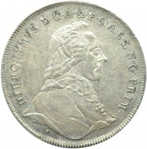 Austria, Salzburg, Hieronim, talar 1780, Salzburg, bardzo ładny