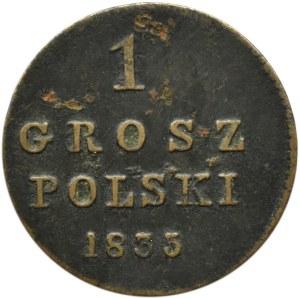 Mikołaj I, 1 grosz 1835 I.P., Warszawa