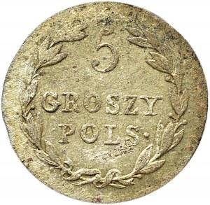 Aleksander I, 5 groszy 1819 I.B., Warszawa