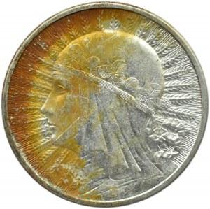 Polska, II RP, Głowa Kobiety 2 złote 1934, piękne
