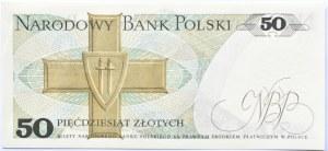 Polska, PRL, 50 złotych 1975, seria AD, Warszawa, UNC