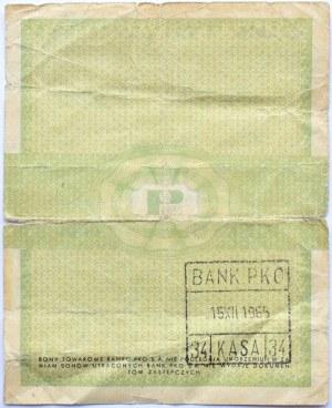 Polska, PeWeX, 5 centów 1960, seria Da, z klauzulą na rewersie, rzadkie