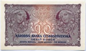 Czechosłowacja, 10 koron 1927, seria S.N 167, UNC