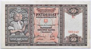 Słowacja, 50 koron 1940, seria Fn