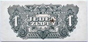Polska Ludowa, seria lubelska, 1 złoty 1944, seria EC