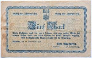 Bunzlau, Bolesławiec, 5 marek 1918, nr 086046
