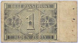 Polska, II RP, 1 złoty 1938, seria X, rzadkie
