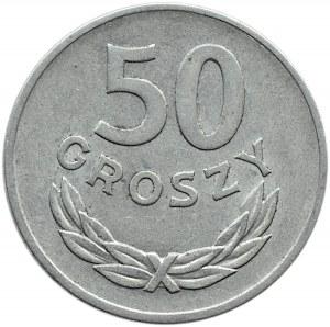 Polska, PRL, 50 groszy 1957, Warszawa, ładny egzemplarz