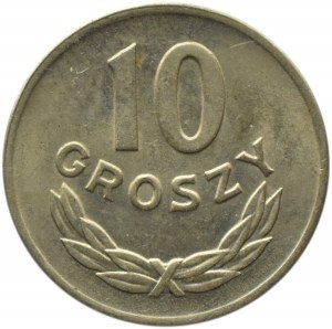 Polska, RP, 10 groszy 1949, Kremnica, UNC
