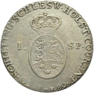 Niemcy/Schleswig-Holstein/Dania, Christian VII, talar 1789 M, Altona