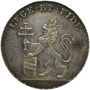 Austria, Franciszek II, żeton koronacji na króla Czech w 1792 roku