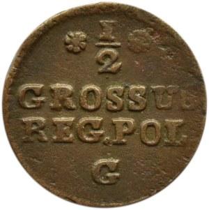 Stanisław A. Poniatowski, 1/2 grosza 1767 G, Kraków
