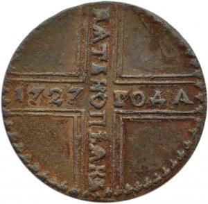 Rosja, Katarzyna I, 5 kopiejek 1727, Moskwa