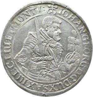 Niemcy, Saksonia, Johann Georg I, talar 1634, Drezno, bardzo ładny