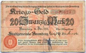 Bromberg, Bydgoszcz, 20 marek 1918, numer 043624