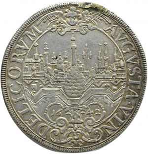 Niemcy, Augsburg, Ferdynand III, talar 1642, Augsburg