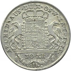 Zabór Austriacki, Ks. Oświęcimsko-Zatorskie, 30 krajcarów (dwuzłotówka) 1775, Wiedeń