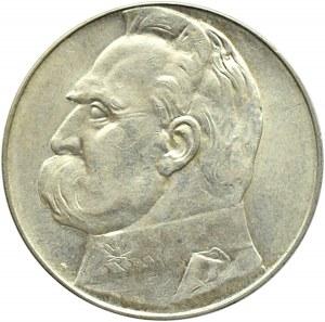 Polska, II RP, Józef Piłsudski, 10 złotych 1939, Warszawa