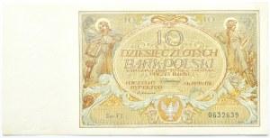 Polska, II RP, 10 złotych 1929, seria FY, Warszawa, UNC