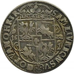 Zygmunt III Waza, ort 1622, Bydgoszcz, duża dwójka w dacie