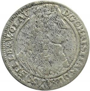 Śląsk, Chrystian Wołowski, 15 krajcarów 1664 CB, Brzeg