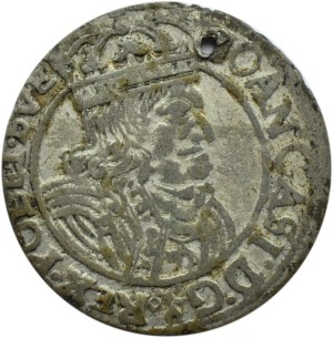Jan II Kazimierz, szóstak 1661 GB-A, Lwów