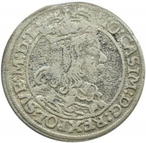 Jan II Kazimierz, szóstak 1667 TL-B, Kraków