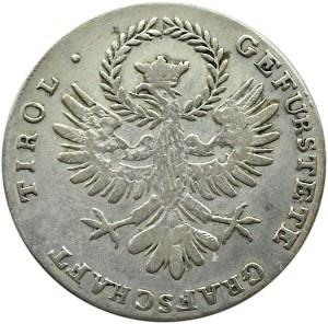 Austria, Tyrol, 20 kreuzer (krajcar) 1809