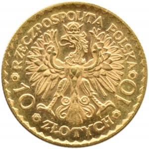 Polska, II RP, Bolesław Chrobry, 10 złotych 1925, Warszawa, UNC