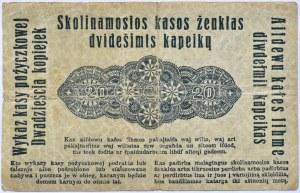 Polska/Niemcy, Poznań 20 kopiejek 1916 OST, bez serii
