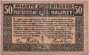 Bielitz, Bielsko, 50 halerzy 1919