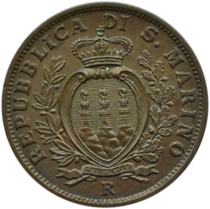 San Marino, 10 centesimi 1938 R, Rzym