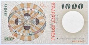 Polska, PRL, 1000 złotych 1965, seria A, SPECIMEN, Warszawa