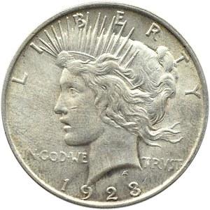 USA, Peace, 1 dolar 1923, Filadelfia