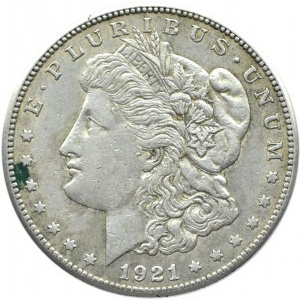 USA, Morgana, 1 dolar 1921 S, San Francisco