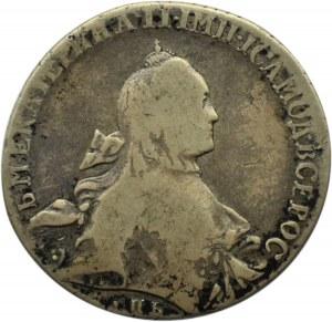 Rosja, Katarzyna II, 1 rubel 1766 JaI, Petersburg