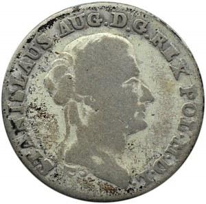 Stanisław A. Poniatowski, dwuzłotówka 1789 E.B., Warszawa