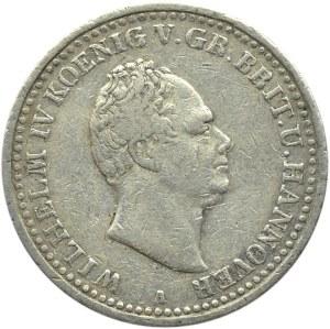 Niemcy, Hannover, Wilhelm IV, talar 1835 A, Berlin