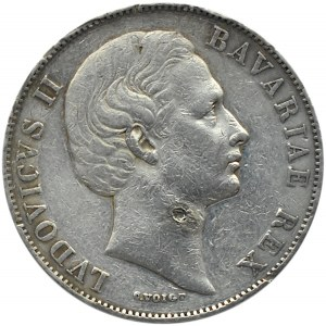 Niemcy, Bawaria, Ludwig II, talar, Monachium
