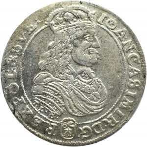 Jan II Kazimierz, ort 1668, Bydgoszcz, ładny