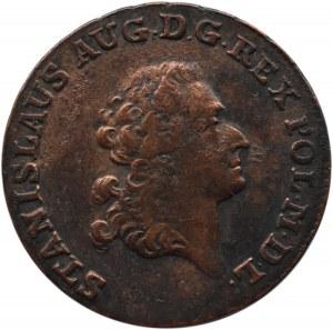 Stanisław A. Poniatowski, trojak 1791 E.B., Warszawa