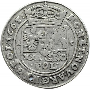 Jan II Kazimierz, tymf 1665 AT, Bydgoszcz, SALVS: