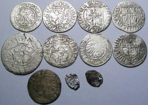 Polska/Rosja, lot 11 srebrnych monet