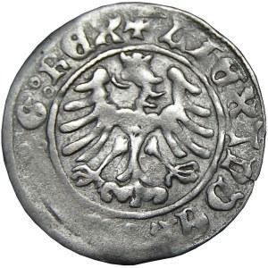 Aleksander I Jagiellończyk, półgrosz koronny, Kraków, NIENOTOWANY